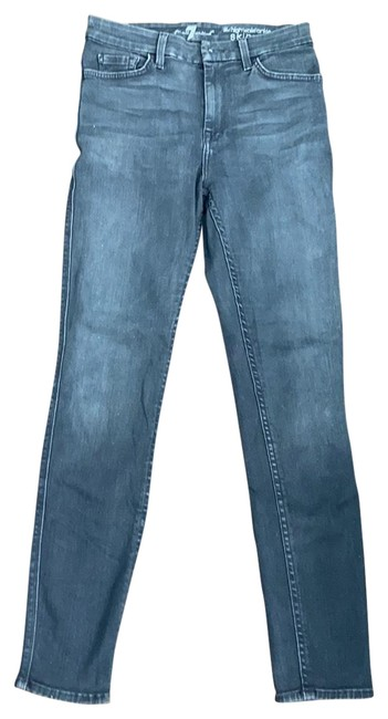Item - Dark Gray Coated Skinny Jeans Size 6 (S, 28)