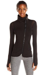 Capezio Capezio Black Athletic Warmup Jacket Zip-up