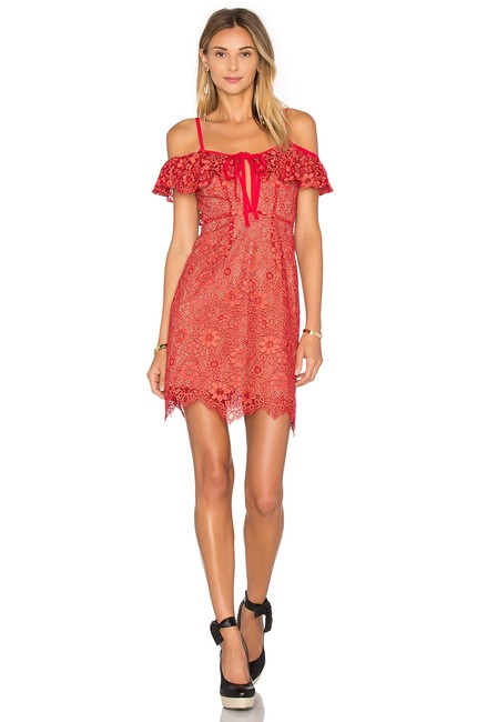 Item - Red Rosemary Mini Cherry S Short Night Out Dress Size 4 (S)