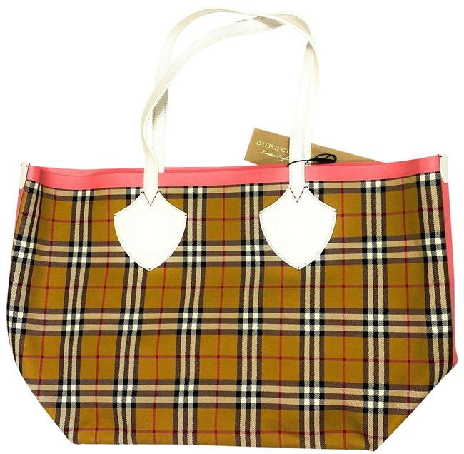 Item - Giant Reversible Large Canvas White Cotton Tote