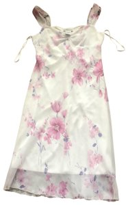 multi elegant white pink floral Maxi Dress by Jonathan Martin