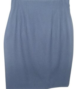 Sunny Names Basic Navy Short Pencil Short Pencil Vintage Skirt Blue