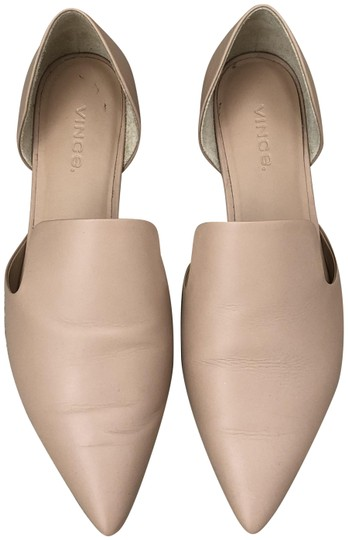 Vince Nude Damris Notched Flats Size US