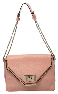 Chloé Fabric Leather Shoulder Bag