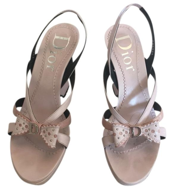 Item - Pink Christian Chunky Or 37) Wedges Size US 7 Narrow (Aa, N)