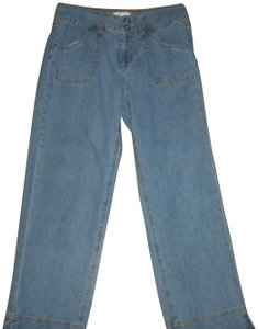 Casual Living Medium Wash Four Pockets Relaxed Fit Jeans-Medium Wash