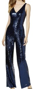 Night Way Collections Monochrome Sleeveless V-neck Sequin Dress