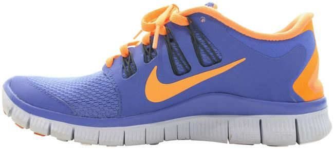 Item - Blue & Orange Running Sneakers Size US 6.5 Regular (M, B)