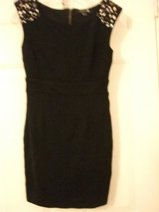 forever 21 short dress black 21 Rhinestone Studded Tapered Fit on Tradesy