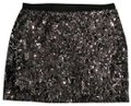Express Silver Sparkle Stretch Sequin Skirt Size 2 (XS, 26) Express Silver Sparkle Stretch Sequin Skirt Size 2 (XS, 26) Image 1