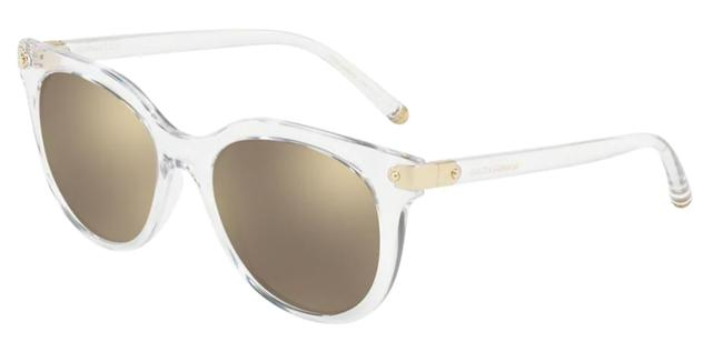 Dolce&Gabbana Clear Classic New Condition Mirrored Lens Dg6117 313355a Free 3 Dat Shipping Sunglasses Dolce&Gabbana Clear Classic New Condition Mirrored Lens Dg6117 313355a Free 3 Dat Shipping Sunglasses Image 1