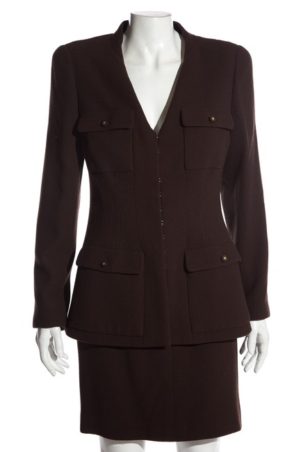 Item - Brown Vintage 42 Skirt Suit Size 8 (M)