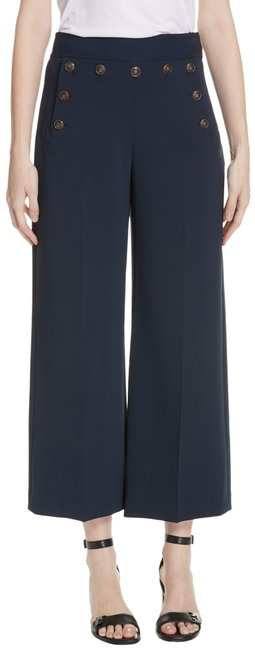 Item - Navy Sailor Button Trousers Pants Size 2 (XS, 26)