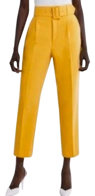 Item - Yellow Belted Pants Size 4 (S, 27)