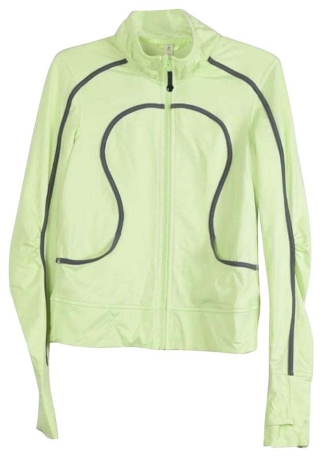 Item - Neon Yellow Citron Activewear Outerwear Size 6 (S)