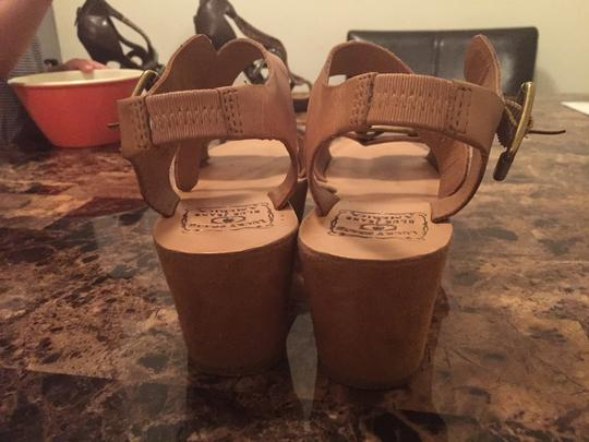 Lucky Brand Tan Wedges