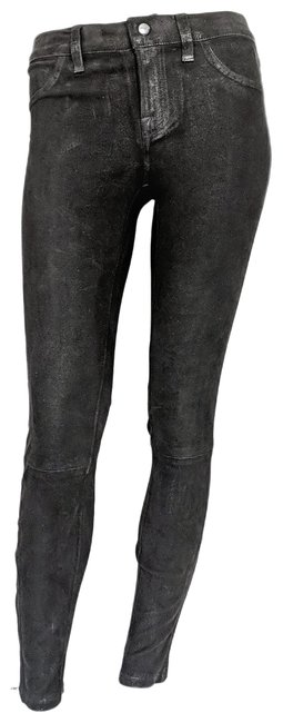 Preload https://img-static.tradesy.com/item/27067194/currentelliott-black-nwot-stretchy-suede-mid-rise-leggings-skinny-jeans-size-26-2-xs-0-1-650-650.jpg
