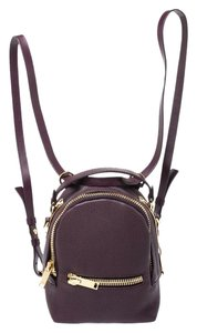 Sophie Hulme Fabric Leather Backpack
