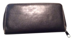 Other Black very soft vinyl wallet holds cash, credit cards and coupons