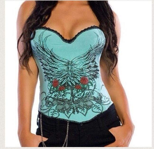 Preload https://item4.tradesy.com/images/lvea-blue-sexy-magic-printed-rhinestone-corset-night-out-top-size-4-s-27068-0-0.jpg?width=400&height=650