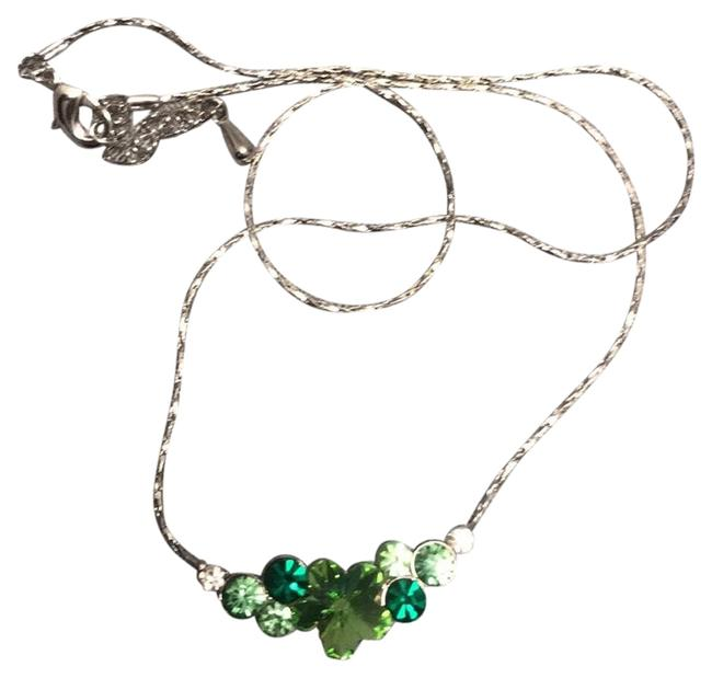 Item - Green Colorful Crystal Necklace