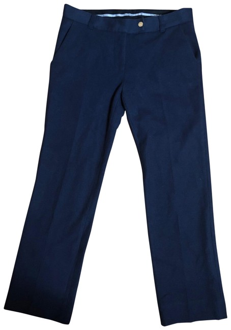 "Item - Navy Blue/Bright Gold 26"" Inseam Dress Pants Size 8 (M, 29, 30)"