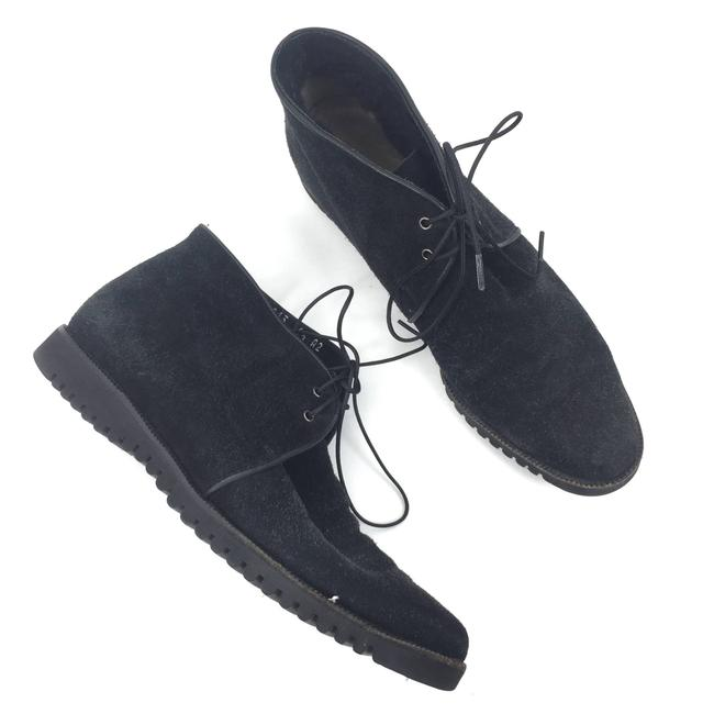 Item - Black Lace Up Chukka Boots/Booties Size US 6.5 Narrow (Aa, N)