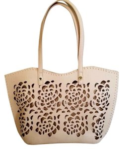 Big Buddha Tote Laser Cutout Shoulder Bag