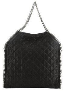 Stella McCartney Fabric Tote in Black