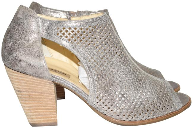 Item - Smoke Tianna Open Toe Chunky Bootie Leather (M36 Sandals Size US 9.5 Regular (M, B)
