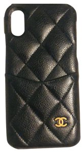 Chanel Lambskin Quilted Caviar iPhone X XS Case