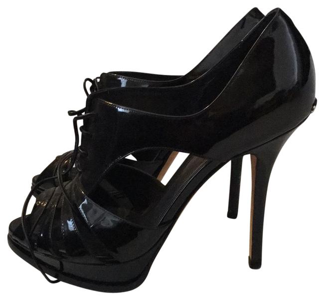 Item - Black Christian Platforms Size EU 37.5 (Approx. US 7.5) Regular (M, B)