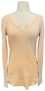 Free People T Shirt Light Pink