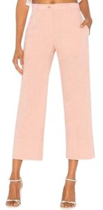 Theory Straight Pants Pink