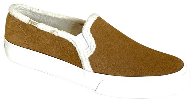 Keds Tan Double Decker Shearling Sneakers/Sz:6.5/Nwt Sneakers Size US 6.5 Regular (M, B) Keds Tan Double Decker Shearling Sneakers/Sz:6.5/Nwt Sneakers Size US 6.5 Regular (M, B) Image 1
