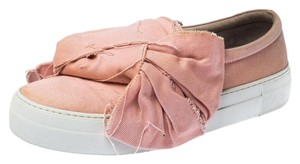 Joshua Sanders Leather Rubber Canvas Pink Athletic