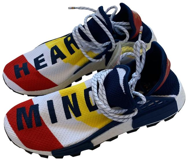 Item - Red Blue White Yellow Nwb Hear Mind Bbc Edition Men's Sneakers Size US 10.5 Regular (M, B)