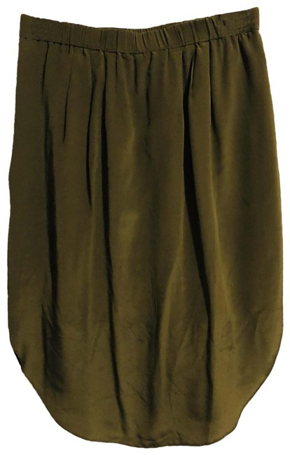 Item - Army Green Skirt Size 4 (S, 27)