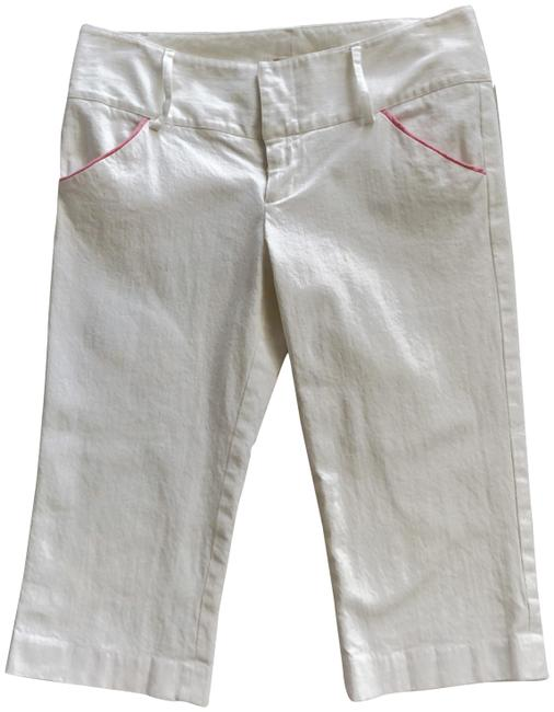 Item - White Fitted Shorts Size 8 (M, 29, 30)