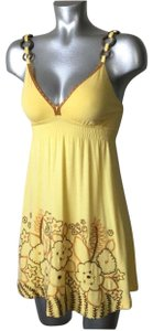 Soul Revival short dress Yellow on Tradesy