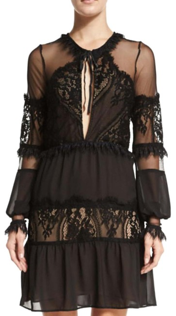 Item - Black Style #flove30349 Mid-length Night Out Dress Size 4 (S)