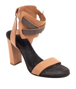Brunello Cucinelli Nude Brown Sandals