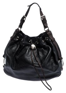 Mulberry Pebbled Leather Hobo Bag