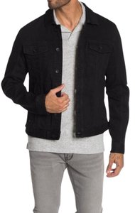 John Varvatos Trucker Longsleeve Men Black Womens Jean Jacket