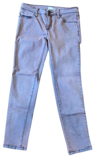 Item - Mauve Coated Skinny Jeans Size 4 (S, 27)
