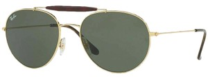Ray-Ban Green Classic G-15 Lens RB 3540 001/56 Unisex Pilot
