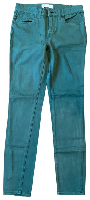Item - Green Coated Jegging Skinny Jeans Size 2 (XS, 26)