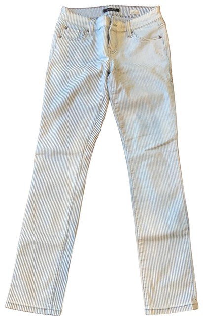 Item - Light Blue and White Wash Skinny Jeans Size 2 (XS, 26)