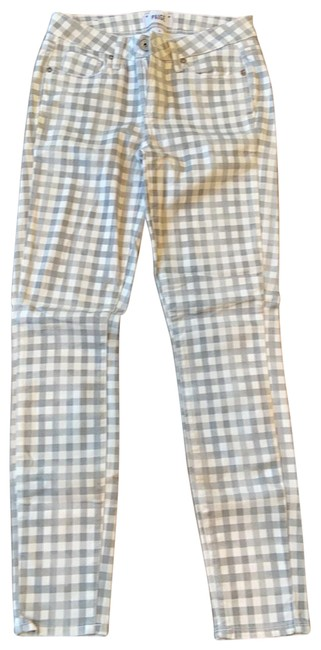 Item - Gray and White Pants Size 4 (S, 27)