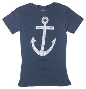 Three for Twelve T Shirt Navy Blue